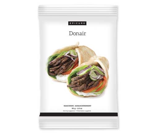 Assaisonnement Donair (lot de 3)
