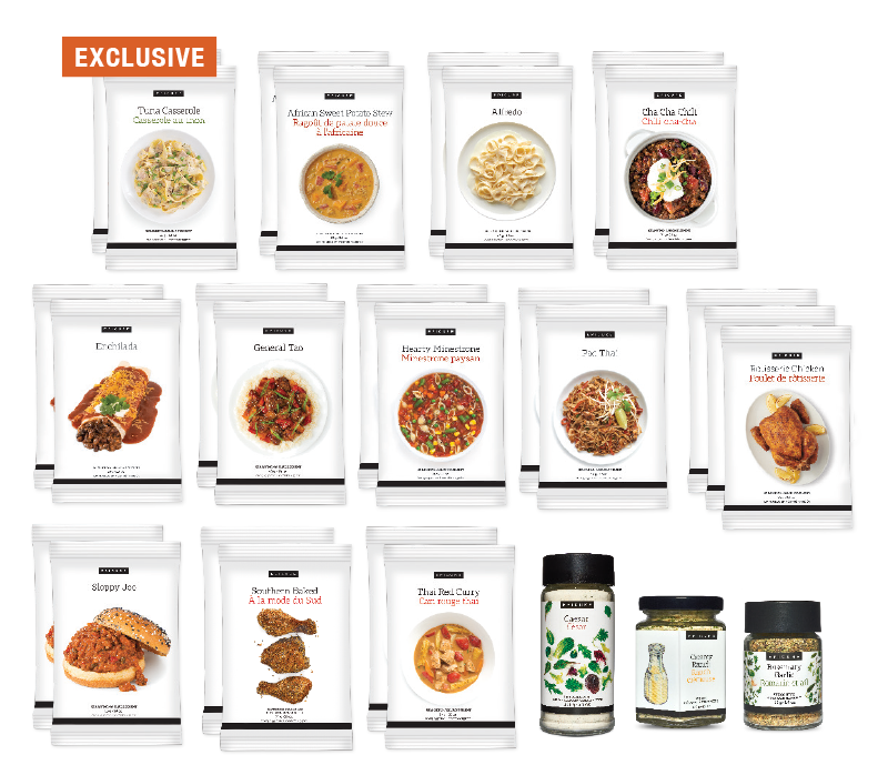 30-Day What's For Dinner Collection - February Exclusive