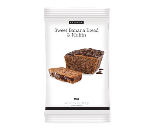 Sweet Banana Bread & Muffin Mix (Pkg of 2)