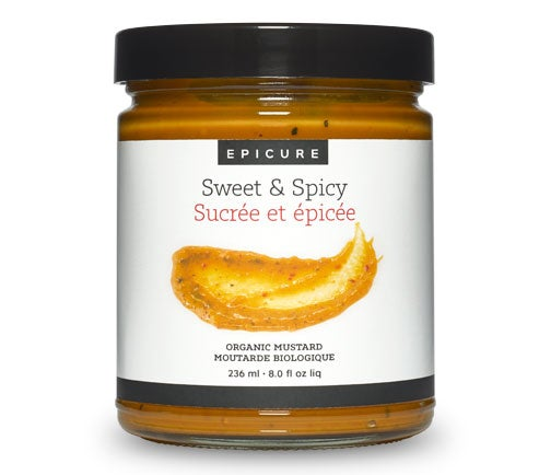 Moutarde sucrée et épicée