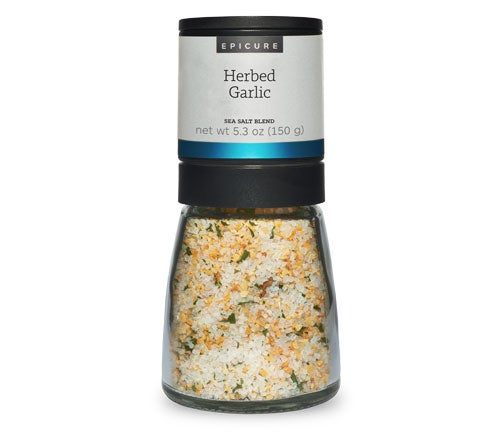 Herbed Garlic Sea Salt Blend (Grinder)