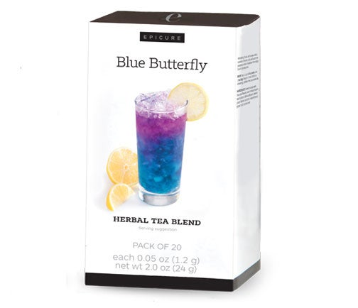 Blue Butterfly Herbal Tea Blend (stapless)