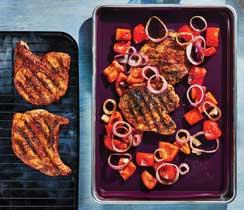 Smokin' BBQ Pork Chops