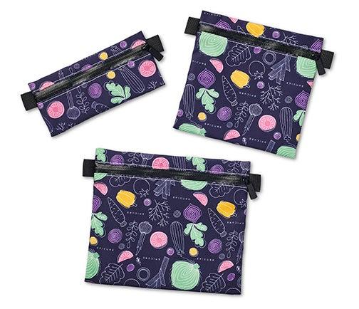 Zip 'n Go Reusable Snack Bags (Set of 3)