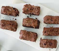 Gluten Free Triple Chocolate Brownie