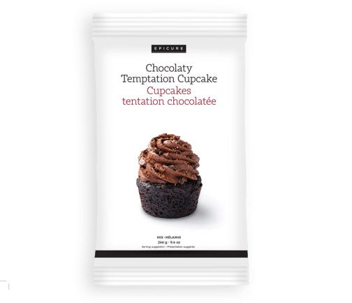 Mélange Cupcakes tentation chocolatée (lot de 2)