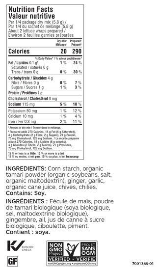 Crispy & Crunchy Lettuce Wrap Seasoning (Pack of 3)