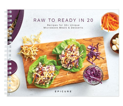 Raw to Ready in 20 Cookbook (6601065)