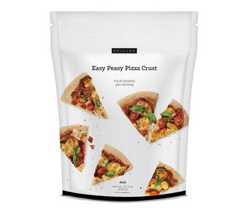 Easy Peasy Pizza Crust