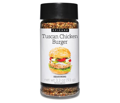 Tuscan Chicken Burger Seasoning