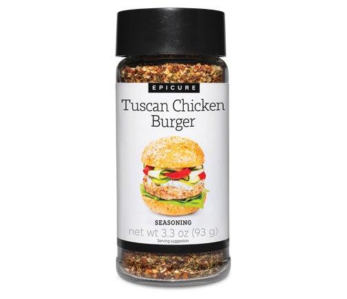 Tuscan Chicken Burger Seasoning