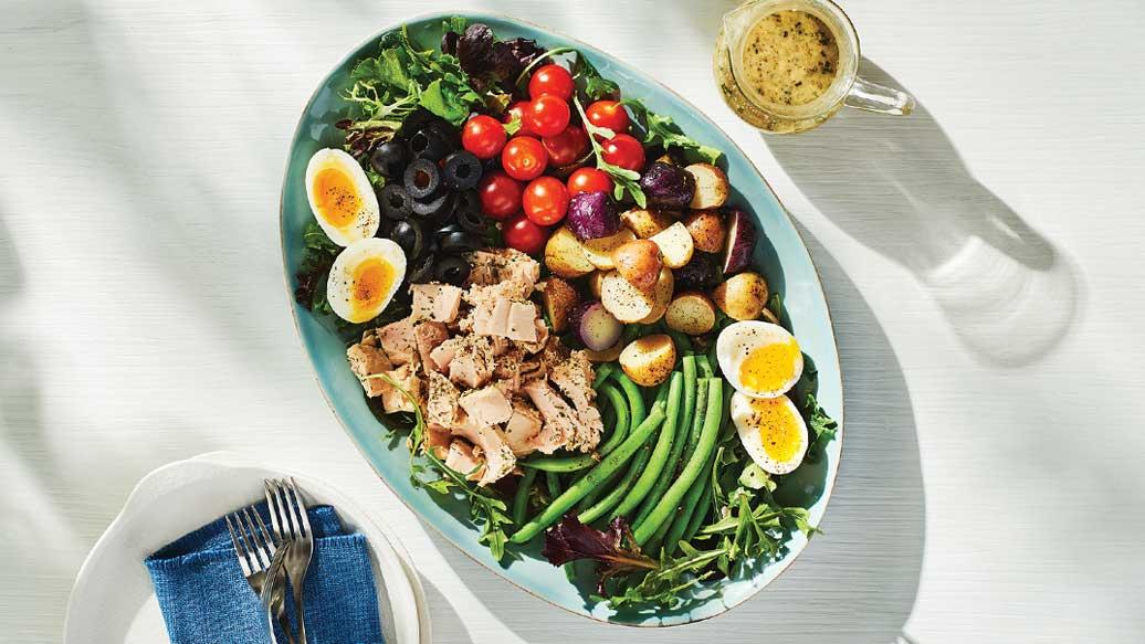 West Coast Niçoise Salad