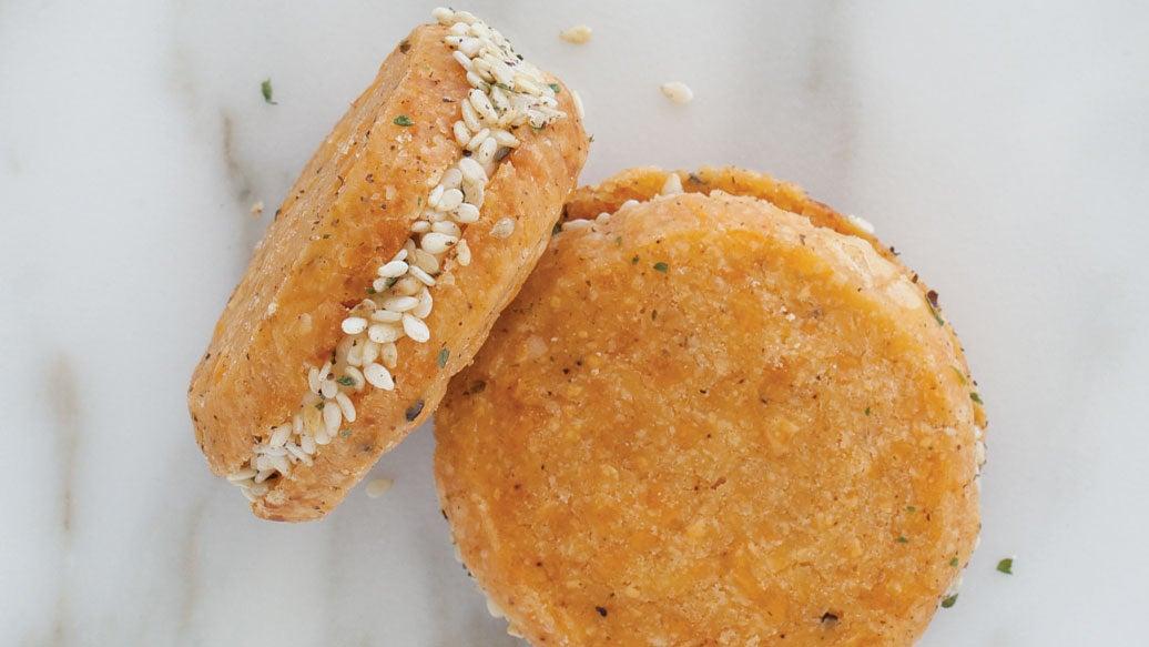 Savoury Cheddar Cookies