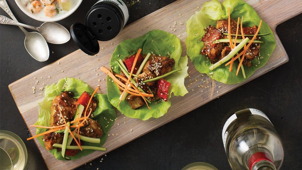 General Tao Lettuce Wraps