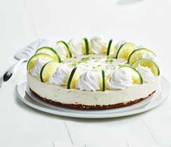 Citrus Lime No-Bake Cheesecake
