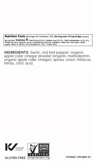 Red Garlic Topper Blend