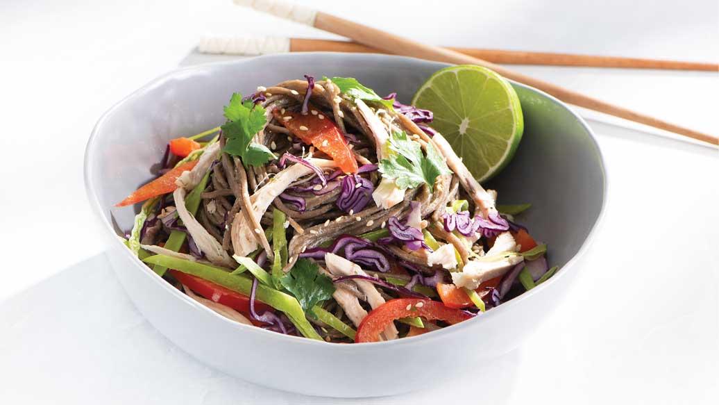 Creamy Miso Noodle Salad
