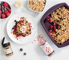 Powered Up Breakfast Crumble