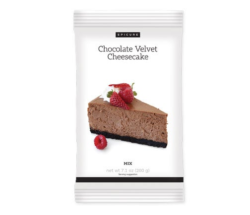 Chocolate Velvet Cheesecake Mix (Pkg of 2)