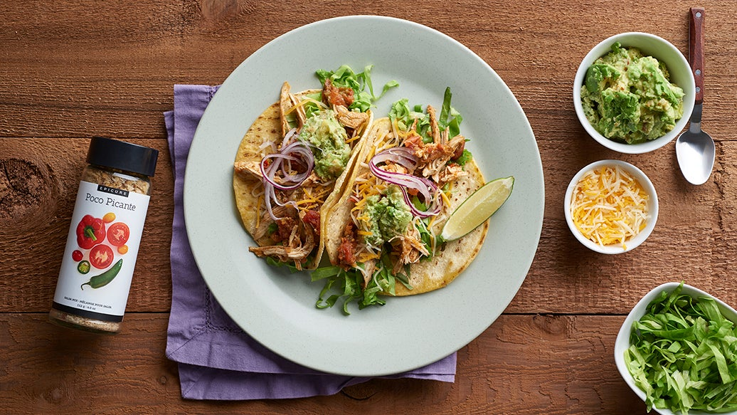 Slow Cooker Salsa Tacos
