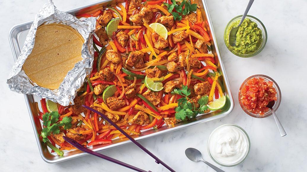 Sheet Pan Fajita Dinner