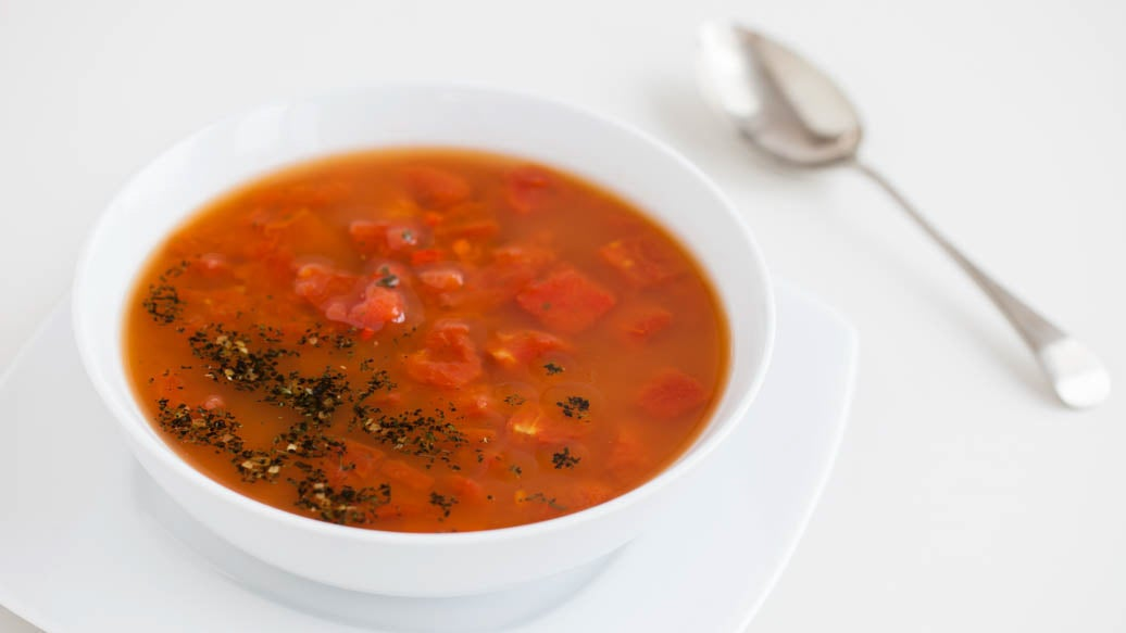 Roasted Red Pepper and Tomato Zuppa