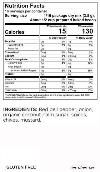 Simply Better Baked Bean Seasoning (Pkg of 3)