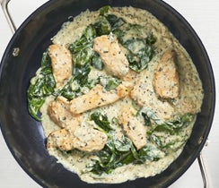 Creamy Pesto Parmesan Chicken