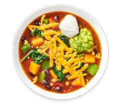 Sweet Potato Enchilada Soup