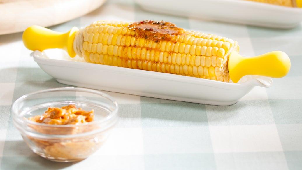 Épis de maïs et beurre chili lime