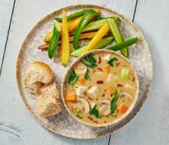 Soupe thaïe au coco