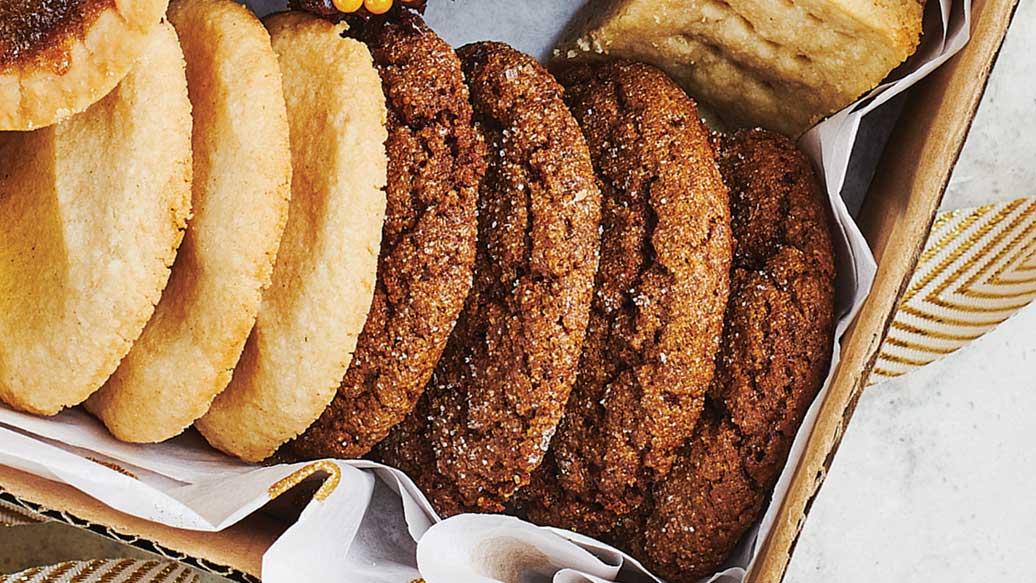 Soft Gingerbread Chews