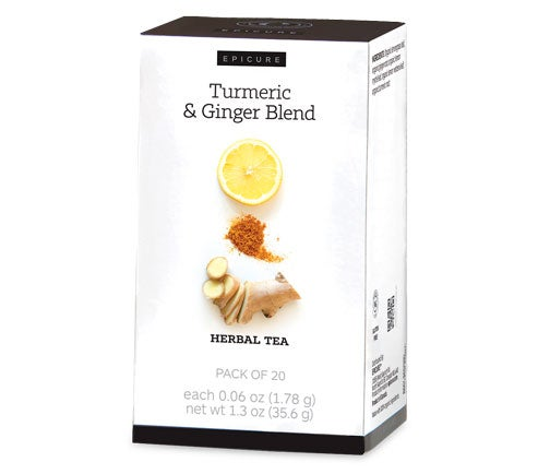 Turmeric & Ginger Blend Enhanced Herbal Tea