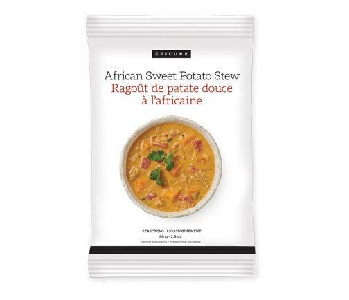 Assaisonnement Ragoût de patate douce à l'africaine (lot de 3)