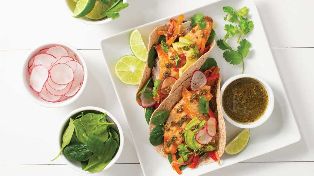 BBQ Steamer Fish Tacos
