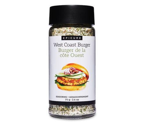 Assaisonnement Burger de la côte Ouest