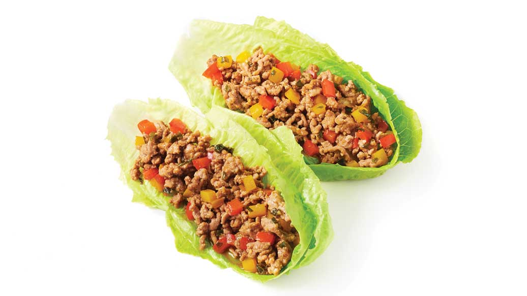 Crispy & Crunchy Lettuce Wraps