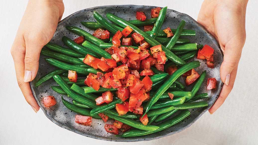 Bruschetta Green Beans