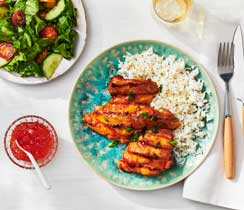 Red Pepper Jelly Grilled Chicken