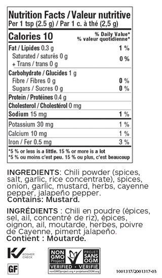 Taco Seasoning (Jar)