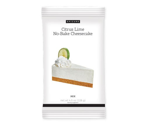 Citrus Lime No Bake Cheesecake Mix (Pkg of 2)