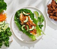 Family-Style Steak Lettuce Wraps