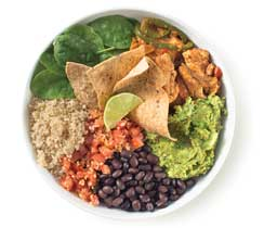 Chicken Fajita Nourish Bowl