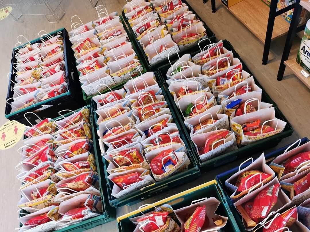 sacks of lunch