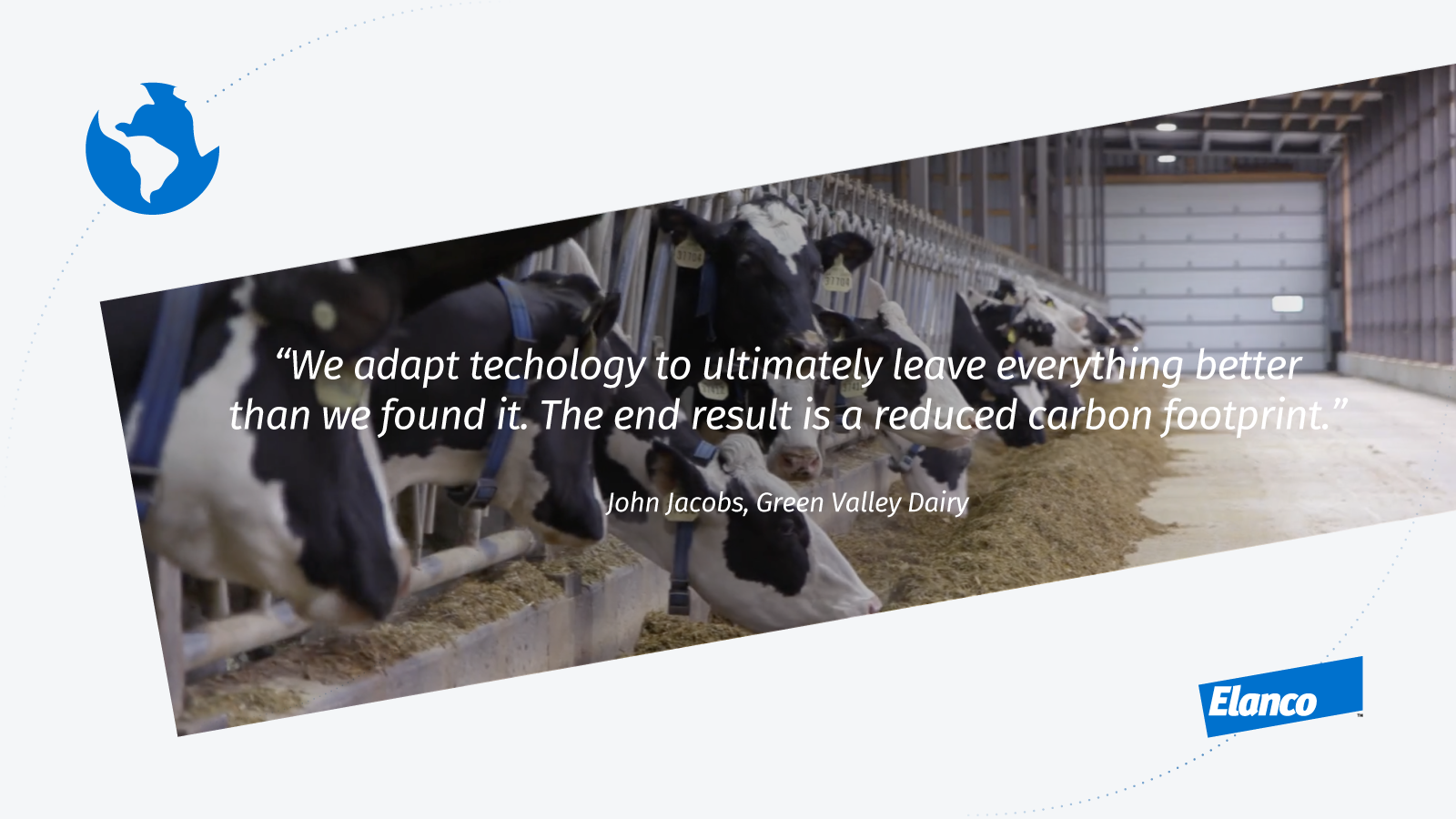 quote icon from John Jacobs of Green Valley Dairy