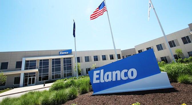 Elanco animal health outside office logo