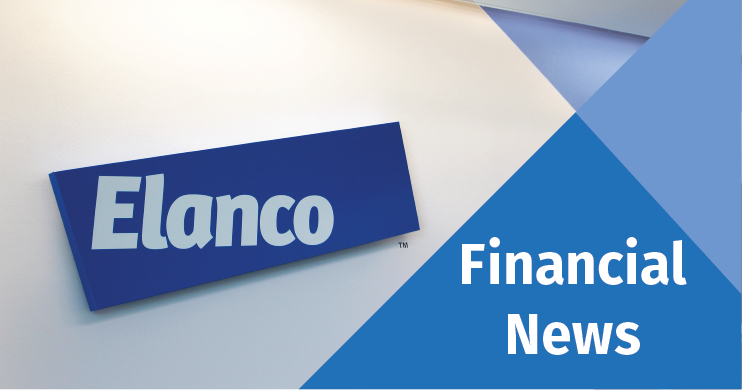 Elanco logo with Financial News caption