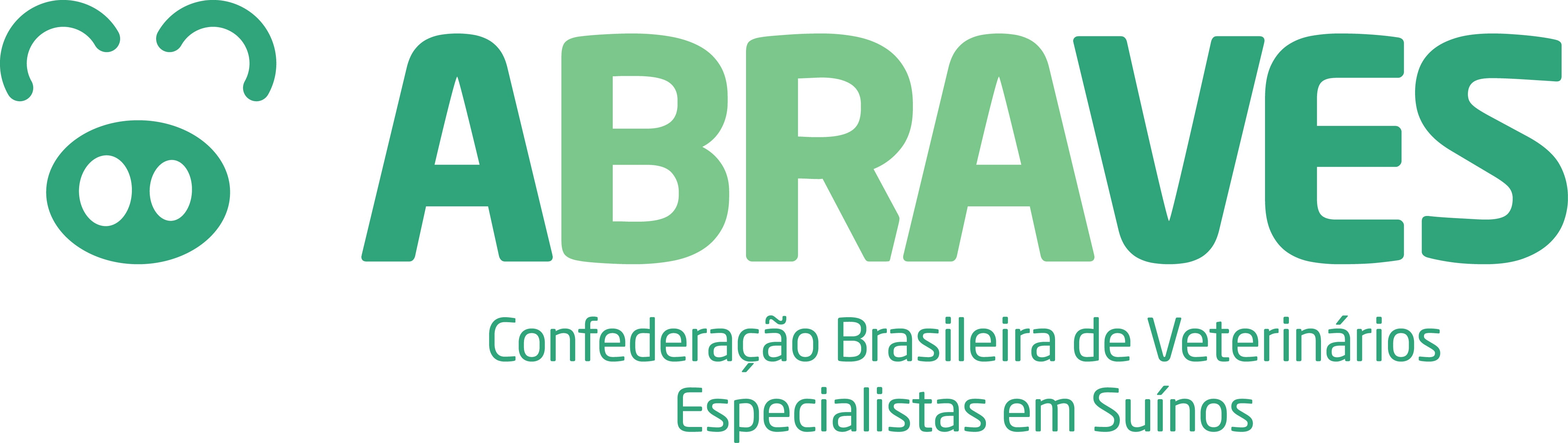 The Brazilian Association of Swine Veterinary Specialists (ABRAVES) logo