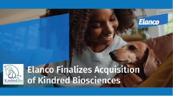 Elanco Closes Acquisition of Kindred Biosciences