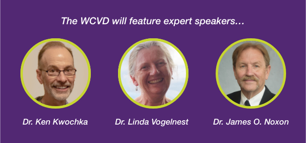 The WCVD  panel of expert speakers